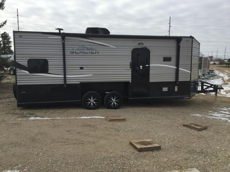 2019 Glacier 21RV Ice/Fish House Trailer