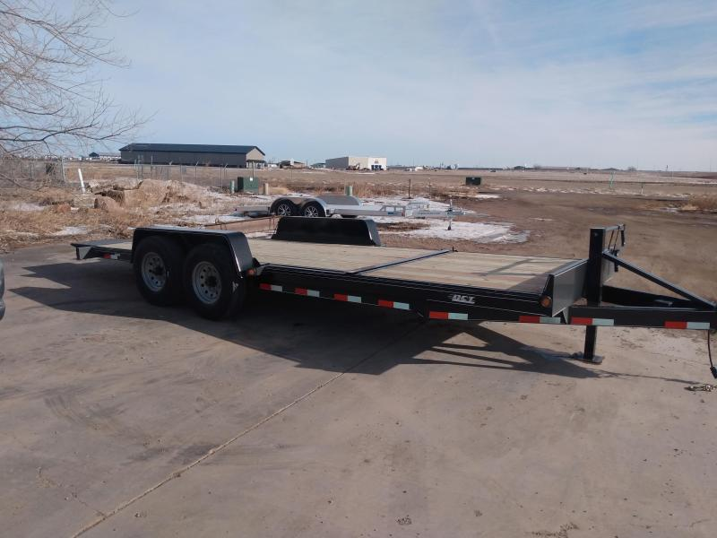 2021 DCT 22' HD Tiltbed Equipment Trailer