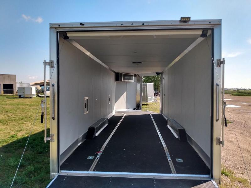 2020 Mission 8.5x29' All Sport Aluminum Frame Enclosed Cargo Trailer