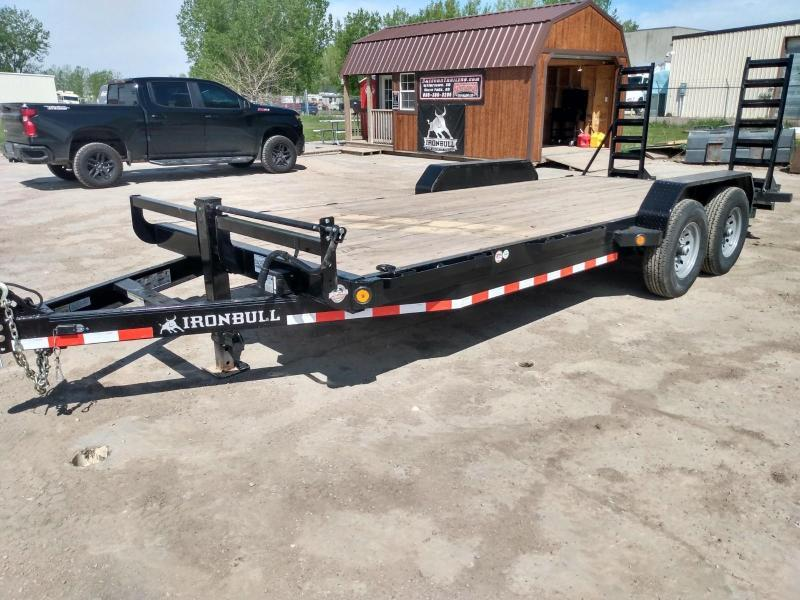 "2020 Iron Bull 83"" X 20' Equipment Trailer"