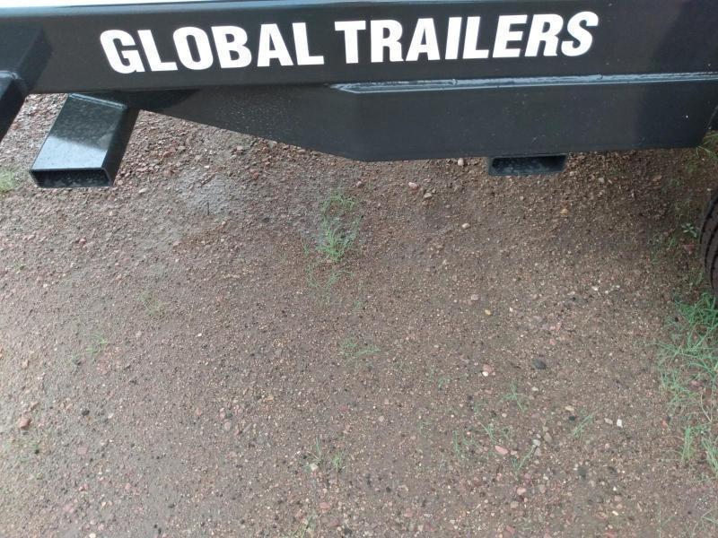 "2022 Global Equipment Co. 80"" X 14' HD Dump Trailer"