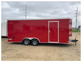 2020 Haulmark 8.5x20 TSV Enclosed Cargo Trailer