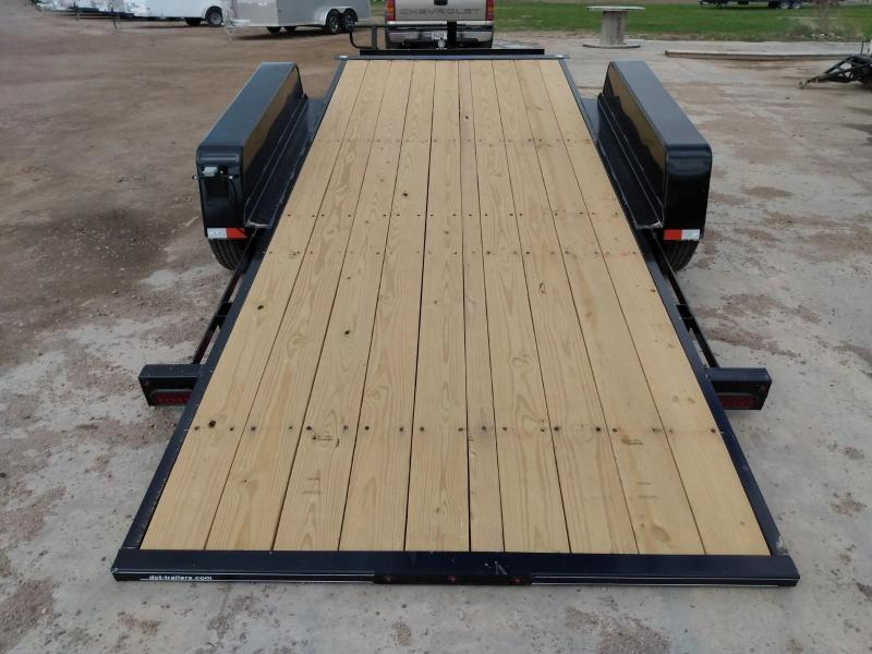 2021 DCT 22' Tiltbed Equipment Trailer