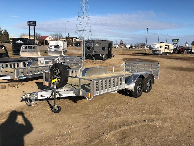 "2021 Alcom-Stealth 80""  X 16'  Utility Trailer"