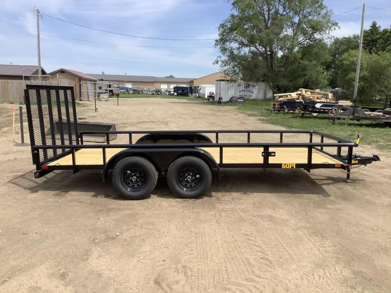 2021 Big Tex Trailers 77x16 Utility Trailer