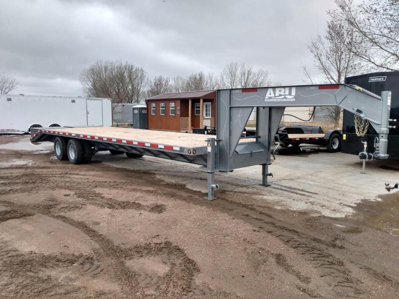 2022 ABU 32' Gooseneck Equipment Trailer
