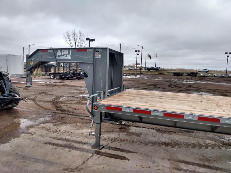 2022 ABU 32' Gooseneck Equipment Trailer