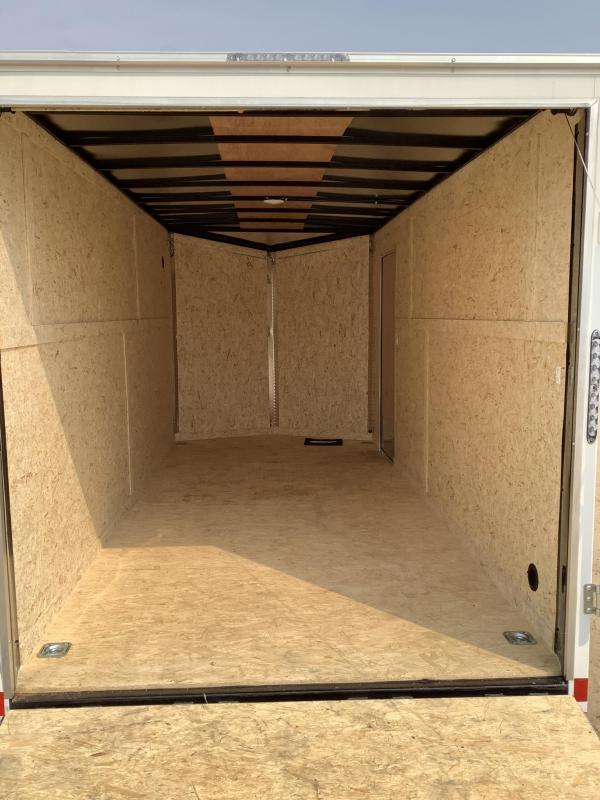 2022 Impact Trailers 7' x 16' Enclosed Cargo Trailer