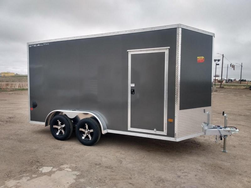 2021 Alcom-Stealth 7.5x14 Enclosed Cargo Trailer