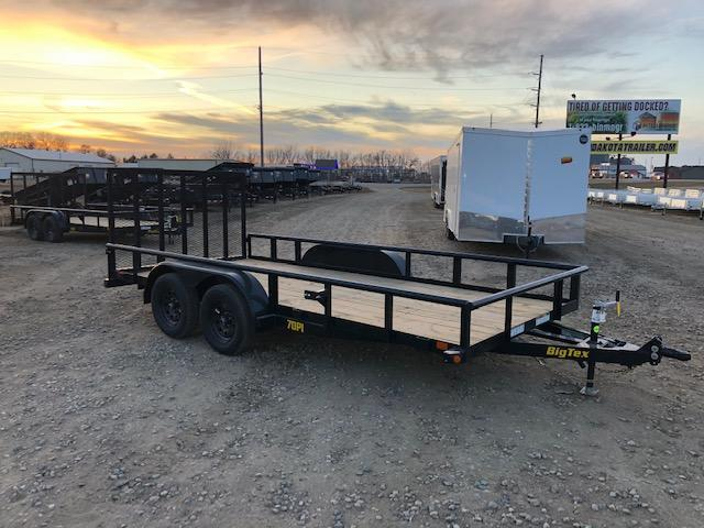 2021 Big Tex Trailers 77x16 70PI Utility Trailer