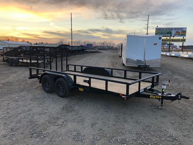 2021 Big Tex Trailers 77x16 70PI Utility Trailer
