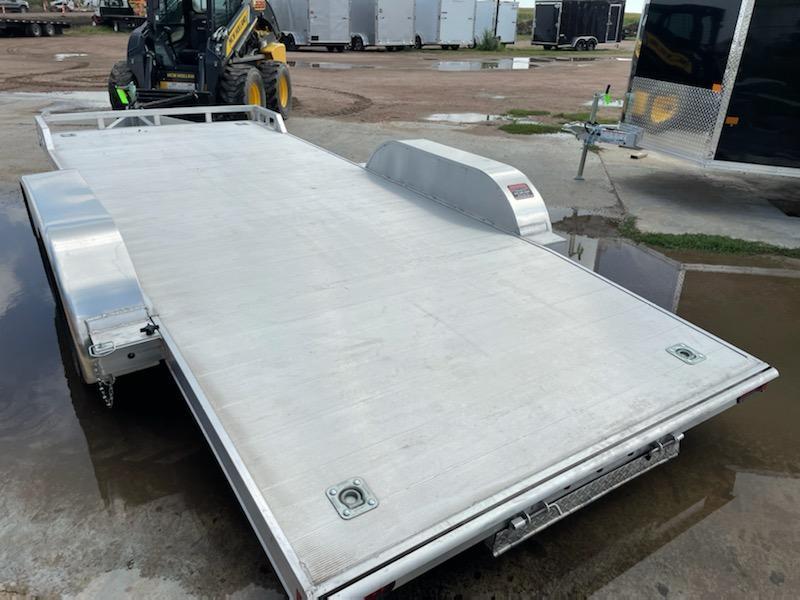 2020 ALCOM 18' Aluminum Car / Racing Trailer