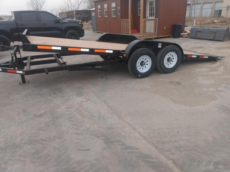 "2021 ABU 83"" x 20' Tiltbed Equipment Trailer"