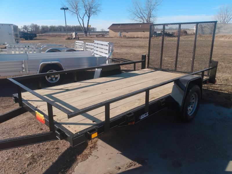 2021 DCT 6'x 12' Utility Trailer