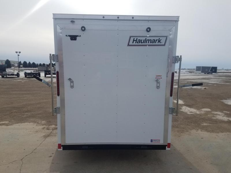 2021 Haulmark 6x12PP Enclosed Cargo Trailer