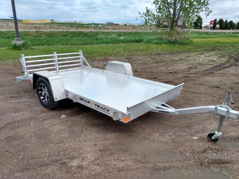 "2021 Bear Track 65"" x 10' Aluminum Utility Trailer"