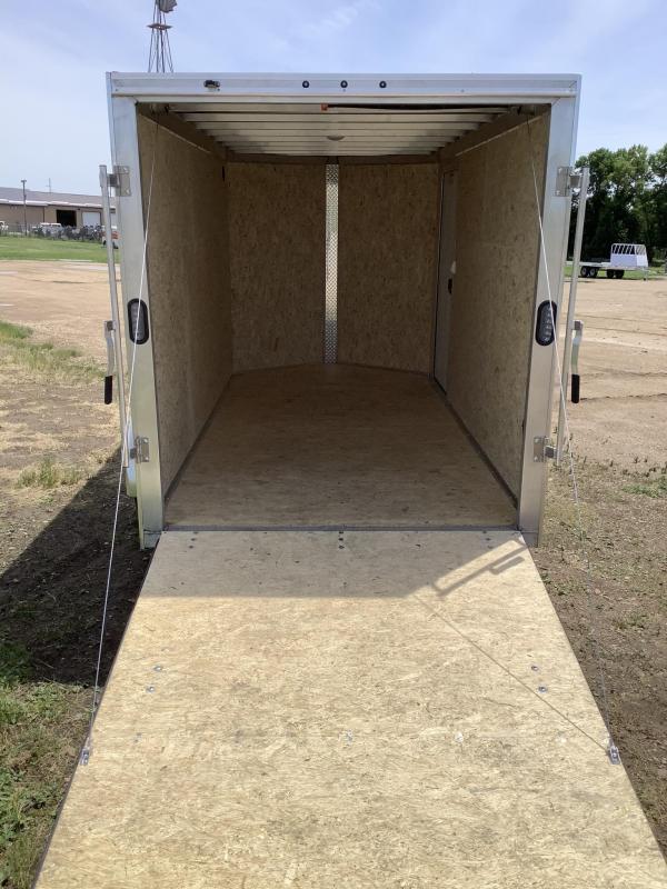 2021 Alcom-Stealth 6x12 Enclosed Cargo Trailer