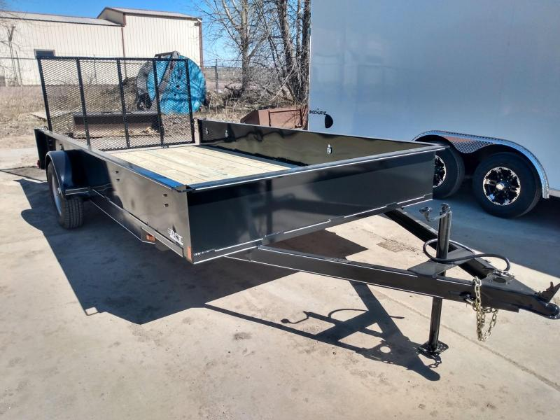 "2021 DCT 83"" X 14' Utility Trailer"