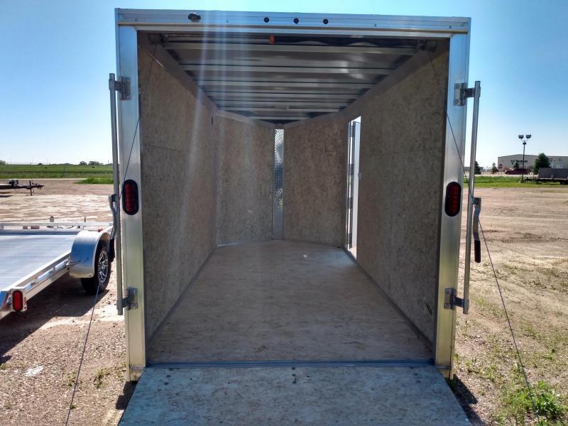 2019 Alcom-Stealth 6x12 Aluminum Frame Enclosed Cargo Trailer
