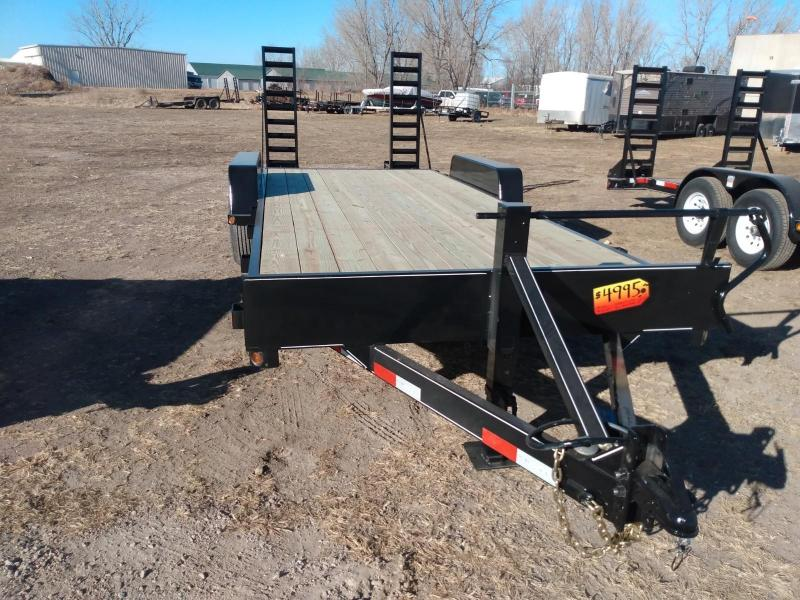 2021 DCT 20HD-14BT Equipment Trailer
