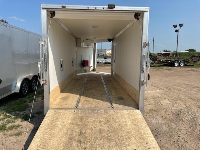 2019 Alcom-Stealth 7' x 18' Aluminum Frame Enclosed Cargo Trailer