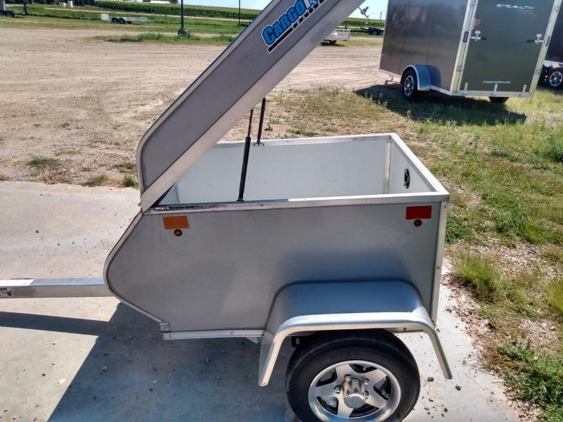 2019 Alcom-Stealth 3x4 Aluminum frame Motorcycle Trailer