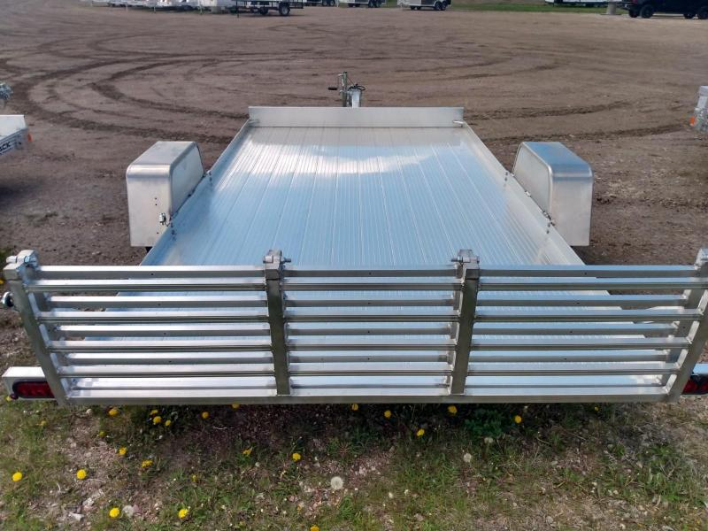 """2020 Bear Track Products 76"""" X 144"""" Aluminum Utility Trailer"""