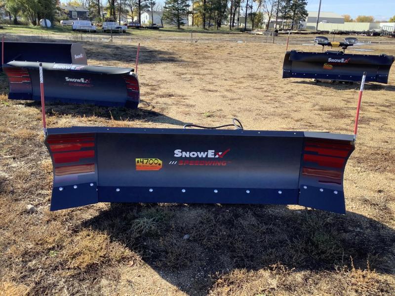 2021 Snow Ex skid steer speed wing