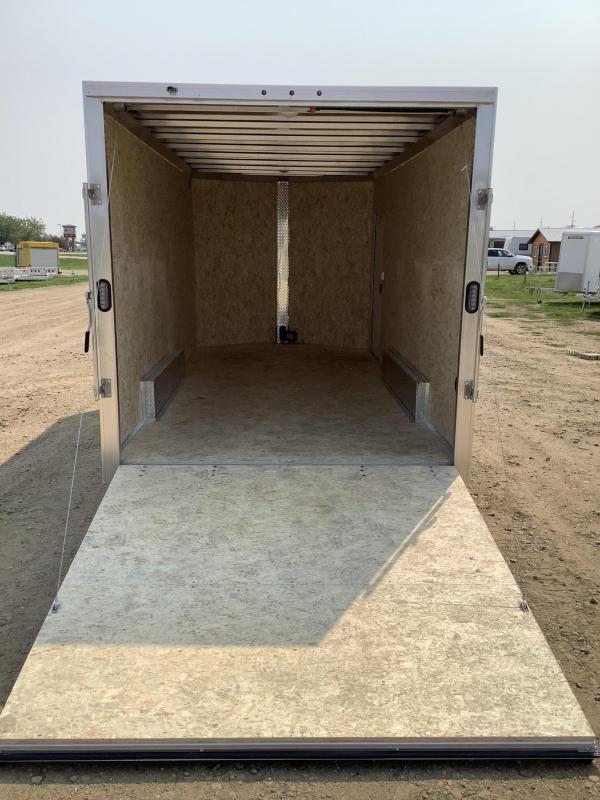 2021 Alcom-Stealth 7.5 x 16 Aluminum Frame Enclosed Cargo Trailer