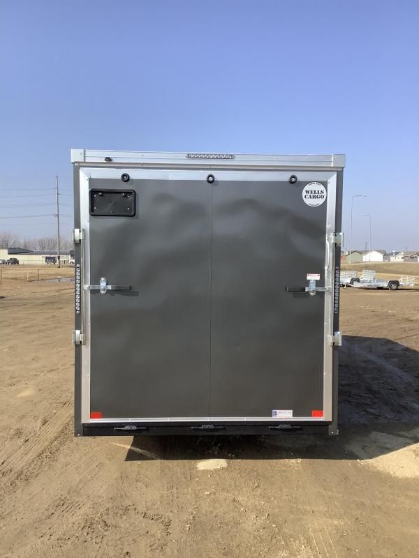 2021 Wells Cargo 7x16RFV Enclosed Cargo Trailer