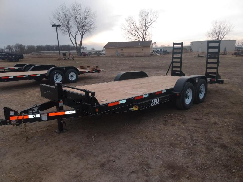 "2021 ABU 83"" X 20' HD Equipment Trailer"