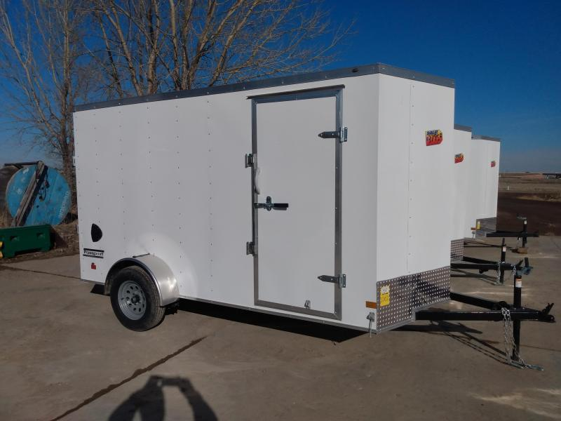 "NEW HAULMARK ENCLOSED TRAILER 6X12  6'6"" HEIGHT"