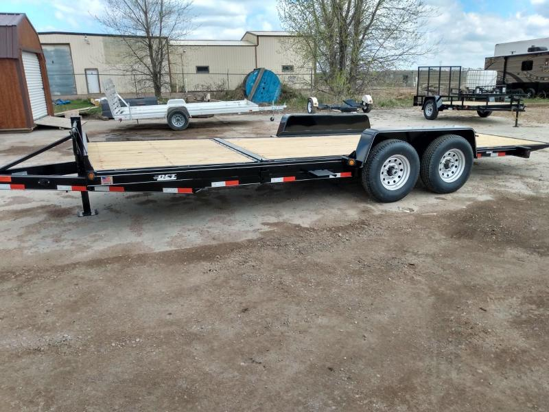 2021 DCT 21' Tiltbed Equipment Trailer