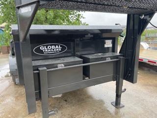 "2022 Global Equipment Co. 81""x16' Dump Trailer"