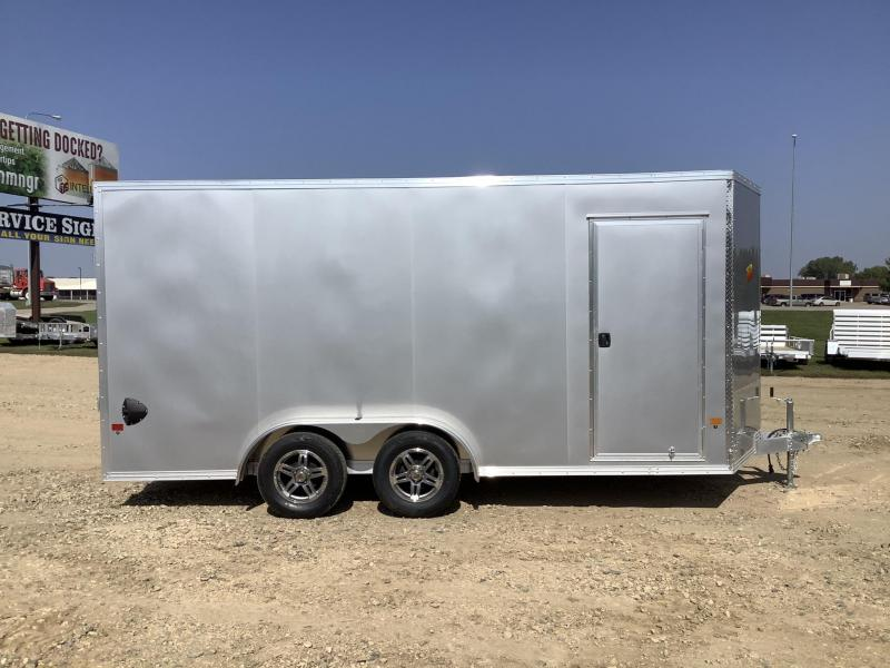 2021 Alcom-Stealth 7.5x16 Enclosed Cargo Trailer
