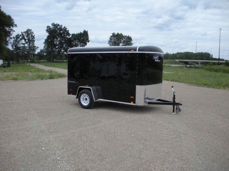 Look Trailers EDLC5X8SI2 Round Top