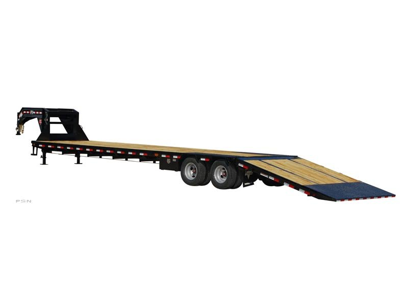 PJ Trailers Low-Pro with Hydraulic Dove (LY)