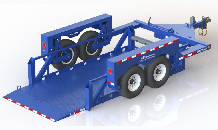 Air Tow Rental 14 Flatbed