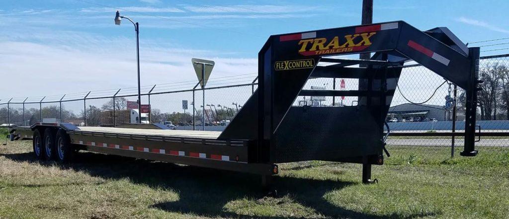 Traxx Trailers 40' Triple Axle Car Hauler
