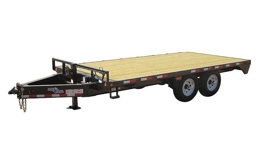 "2016 Load Trail 102"" X 25' Standard Pintle Hook   2-7,000 lb Axles"