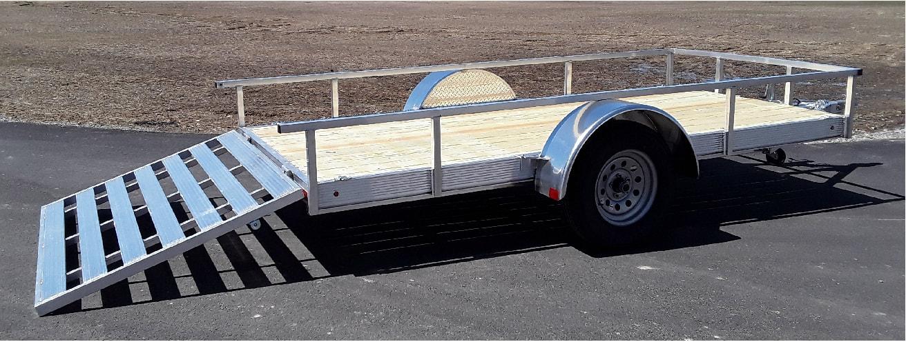 Nitro Trailers 5.5 x 10 Single Axle Utility Trailer