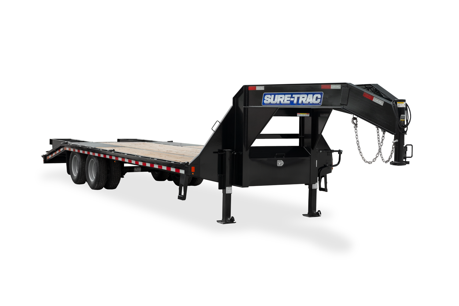 2021 Sure-Trac 8.5 x 25+5 Heavy Duty Low Profile Deckover Goosen