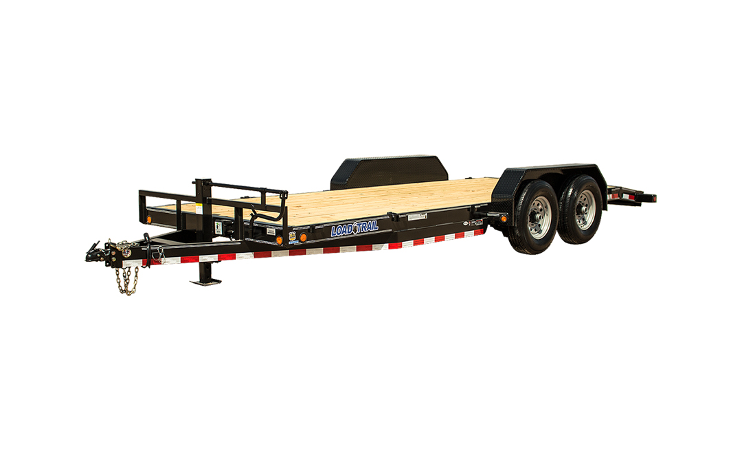 "2021 LOAD TRAIL 80"" X 22' TANDEM AXLE EQUIPMENT HAULER"