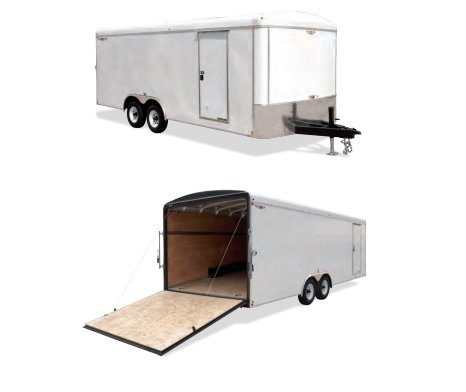 2019 H and H Trailer 101X20 HH R-TOP CARHAUL VNOSE 14K CARGO