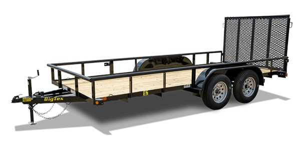 Big Tex Trailers 45ES-12