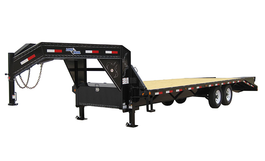 "2013 Load Trail 102"" x 24' Heavy Duty Gooseneck 2-7000 lb Axles"