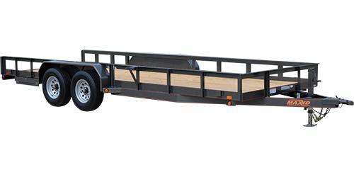 MAXXD U5X - HD Angle Tandem Axle Utility Trailer