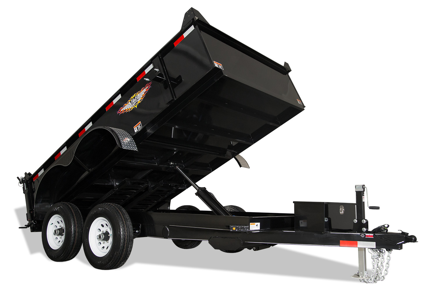 2021 H and H Trailer 76X12 UTILITY DUMP 24IN SW 10K BRAKE