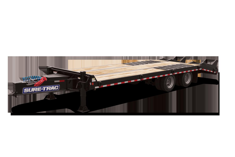 2021 Sure-Trac 8.5 x 20+6 Air Brake Deckover Trailer  2