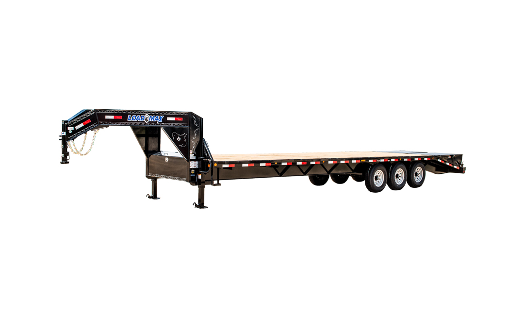 "102"" X 28' TRIPLE HEAVY DUTY GOOSENECK"